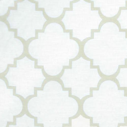 Trend Lab Baby Diaper Sea Foam Quatrefoil Changing Pad Cover