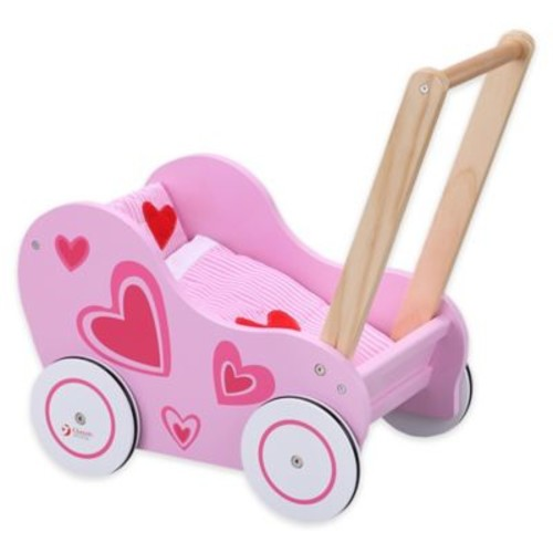 Classic World Doll Stroller in Pink