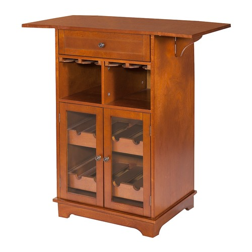 Peoria 8-Bottle Wine Storage Cabinet