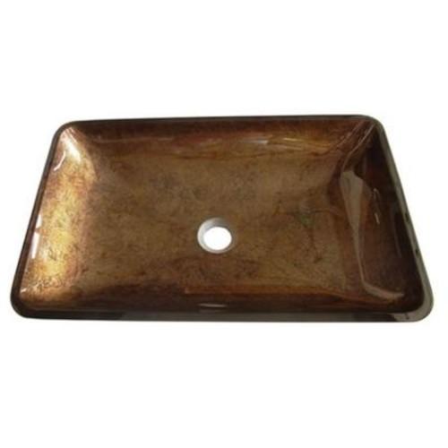 Kingston Brass Vessel Sink in Antique Copper