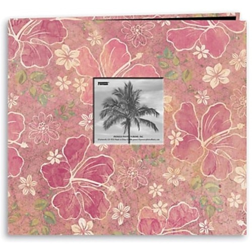 Pioneer Tropical Postbound Album With Photo Window, 12