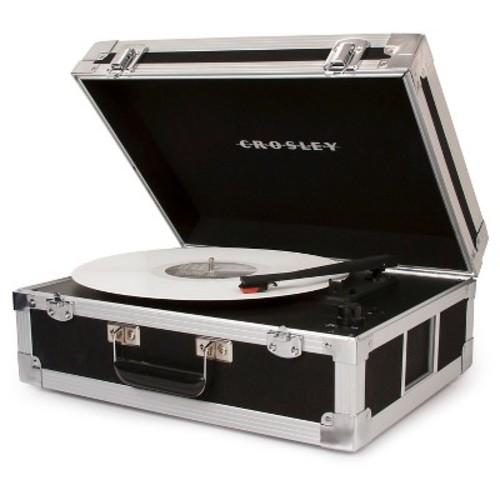 Crosley Bound Turntable - Black/Silver (CR6251A-BK)