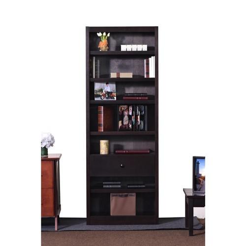 Concepts In Wood Espresso Open Bookcase