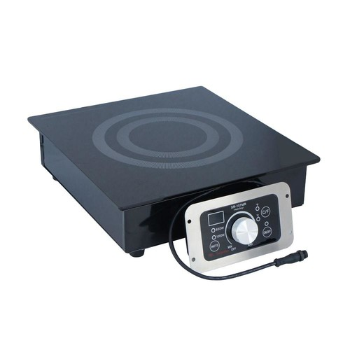 SPT Built-In (Hold Only) Induction Cooktop Warmer in Black with 1 Element