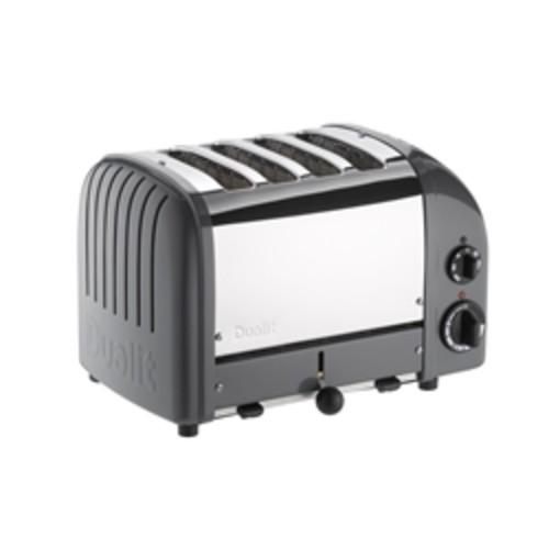 Dualit 4 Slice NewGen Classic Toaster Cobble Gray