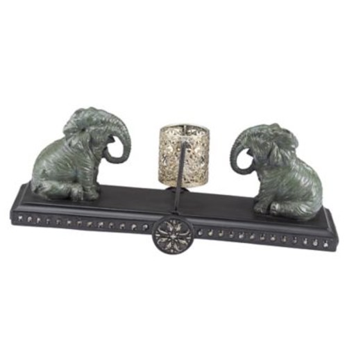 BombayOutdoors Elephant Tealight Holder