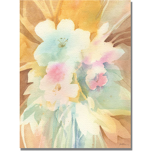Trademark Art 'Secret Garden' Canvas Art by Shelia Golden