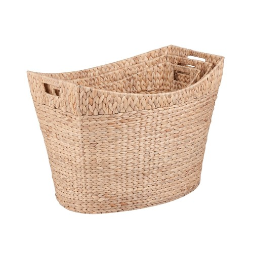 Honey-Can-Do 3-piece Tall Nesting Basket Set