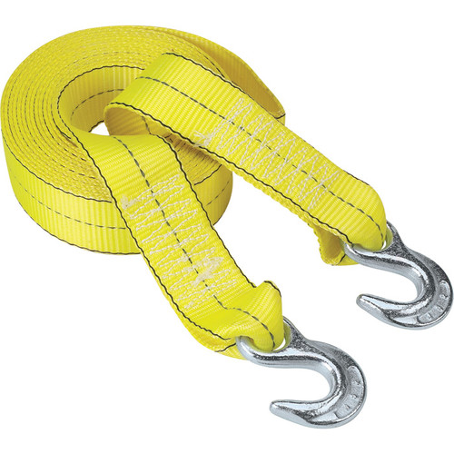 Highland Reflective Tow Strap with Hooks  2in. x 20ft., 10,000-Lb. Capacity