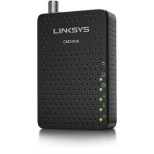 Linksys DOCSIS 3.0 Cable Modem (8x4 Bonded Channels) with Intel Puma 5 Chipset