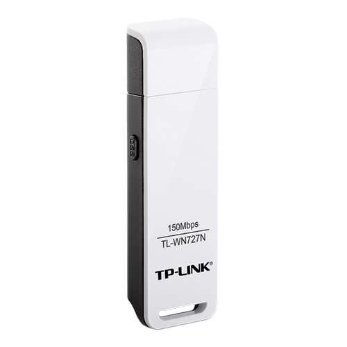 TP-LINK TL-WN727N Wireless Lite N USB Adapter - Network adapter - USB 2.0 - 802.11b, 802.11g, 802.11n
