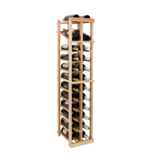 Wine Cellar Vintner Series 24 Bottle Floor Wine Rack; Unfinished
