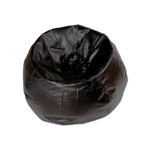 Ace Casual Furniture Black Vinyl Bean Bag