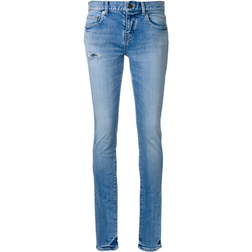 SAINT LAURENT Low Waisted Skinny Jeans