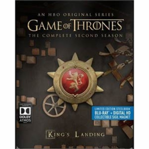 Game of Thrones: The Complete Second Season [Blu-Ray] [Digital HD]