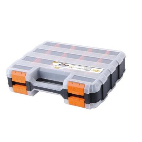 HDX 13 in. 34-Compartment Double Sided Small Parts Organizer