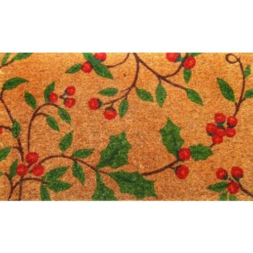 Imports Decor Woven Holly Princess Doormat; Rectangle 18'' x 30''