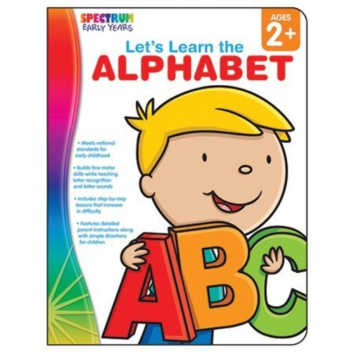 Spectrum Let's Learn: Alphabet