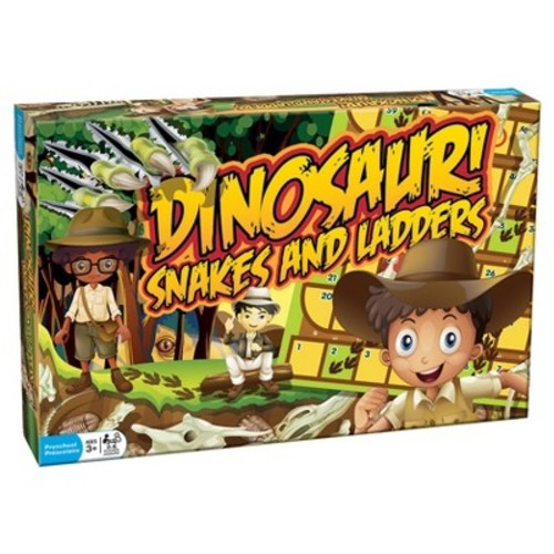 Dinosaur Snakes and Ladders Game
