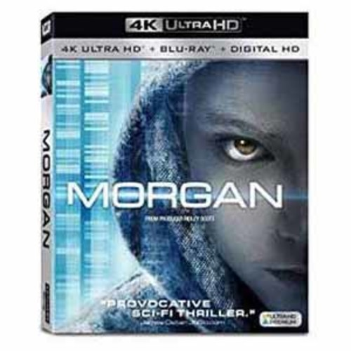 Morgan [4K Ulra HD] [Blu-Ray] [Digital HD]