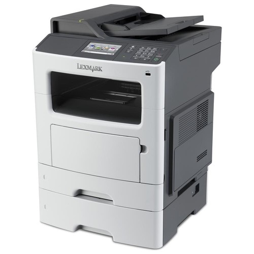 Lexmark MX611DTE Laser Multifunction Printer - Monochrome - Plain Paper Print - Desktop - Copier/Fax/Printer/Scanner - 50 ppm Mono Print - 1200 x 1200 dpi Print - 50 cpm Mono Copy - 7