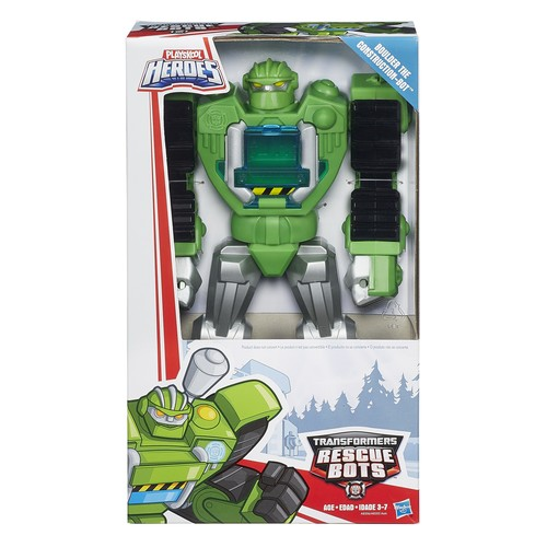 Playskool Heroes Transformers Rescue Bots - Boulder the Construction-Bot Figure