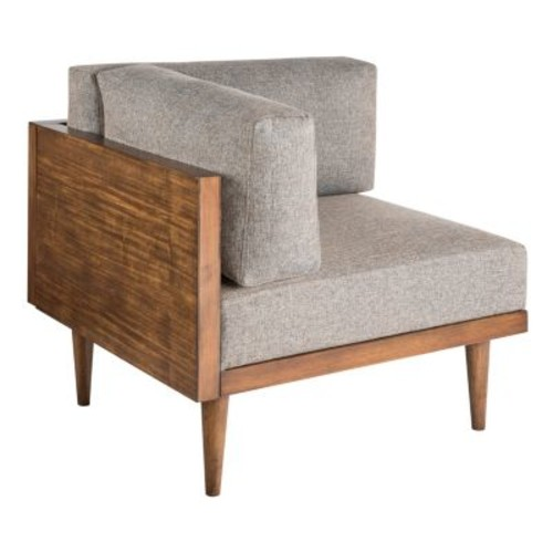 Stanton Square Corner Chair, Quick Ship