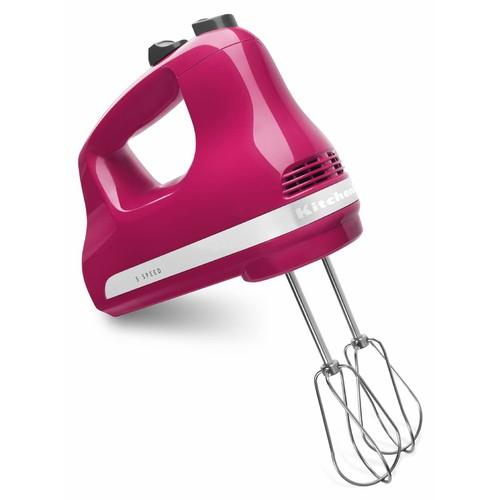 KitchenAid 5-Speed Cranberry Ultra Power Hand Mixer