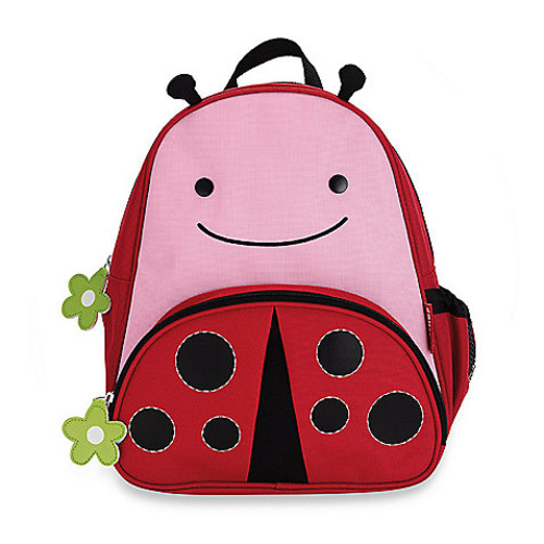 SKIP*HOP Zoo Packs Little Kid Backpacks in Ladybug