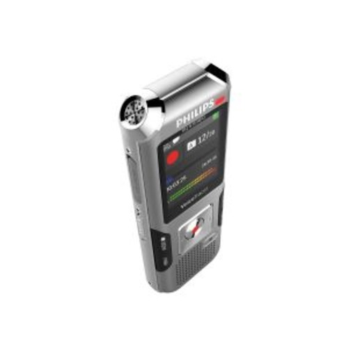 Philips Voice Tracer DVT4010 - Voice recorder - 110 mW - 8 GB - display: 1.77 in - anthracite, shadow silver
