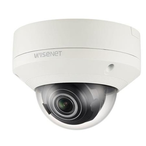 WiseNet X powered by WiseNet 5 network outdoor vandal dome camera, 2MP, Full HD 1080p @60fps WDR off or @30fps WDR on