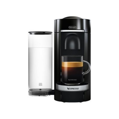 Nespresso Vertuo Plus Deluxe Coffee & Espresso Single-Serve Machine & Aeroccino Milk Frother
