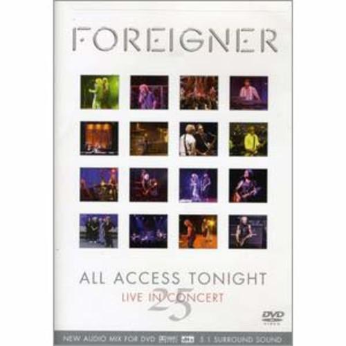 Foreigner: 25 All Access Tonight DTS/DD5.1/DD2
