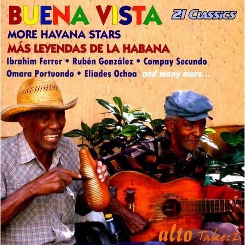 Buena Vista: More Havana Stars/Mas Leyendas De La Habana [CD]