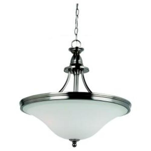 Sea Gull Lighting Gladstone 3-Light Antique Brushed Nickel Pendant