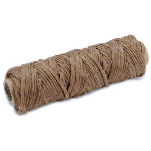 Leather Factory 20 yds. Braided Sinew Spool, Natural