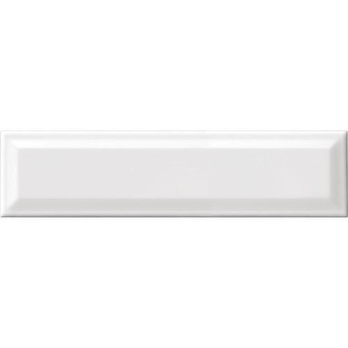 Daltile Finesse Bright White 3 in. x 12 in. Ceramic Sharp Bevel Wall Tile (12 sq. ft. / Case)