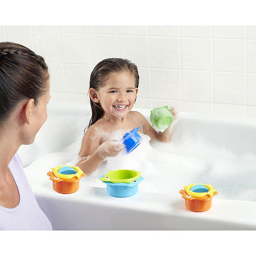 Fun Years Sea Critter Bath Cups