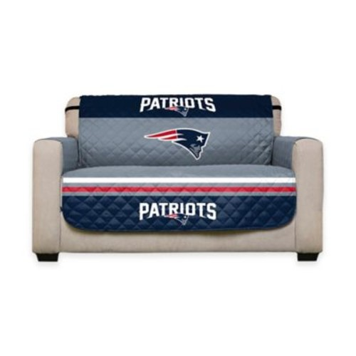 NFL New England Patriots Love Seat Cover