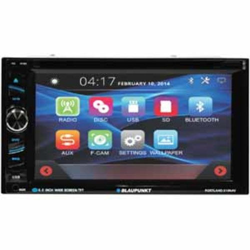 Blaupunkt 6.2 In Dash Touch Screen Navigation Receiver