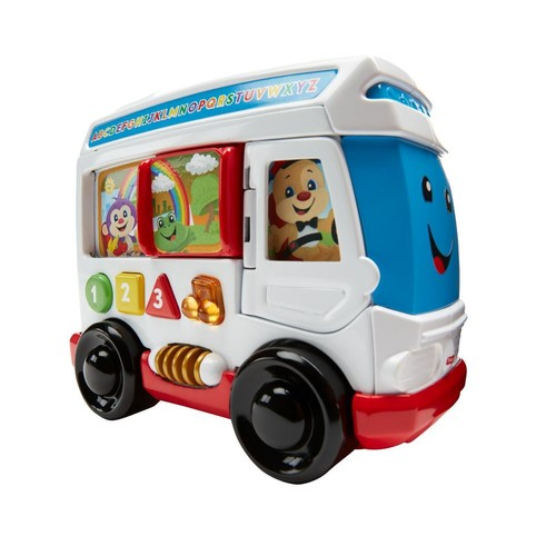 Fisher-Price Laugh & Learn Learn Around Town Bus Toy