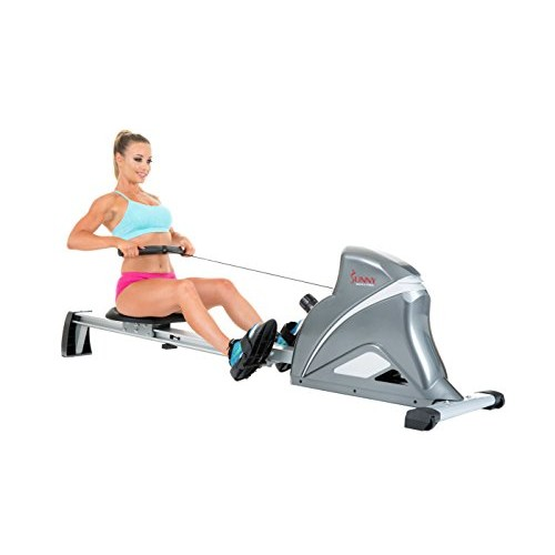 Sunny Health & Fitness SF-RW5508 Ultra Tension Magnetic Pro Rower [Grey]