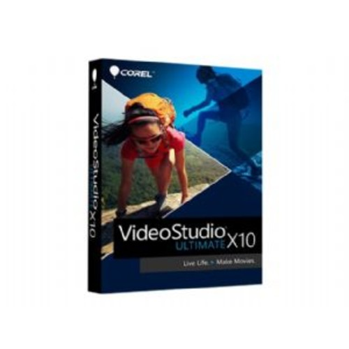Corel VideoStudio Ultimate X10 - Box pack - 1 user - DVD (mini-box) - Win - Multi-Lingual