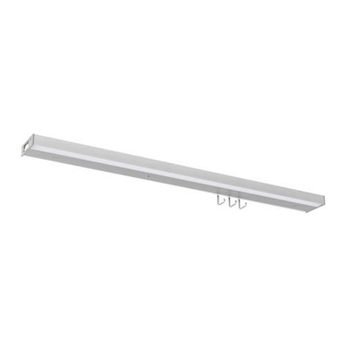 UTRUSTA LED countertop light, aluminum color