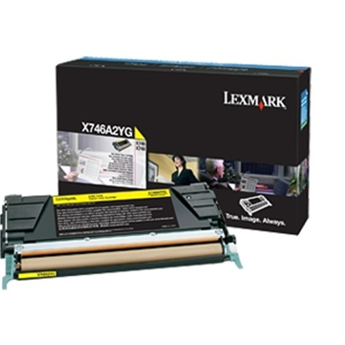 Lexmark Yellow 6000 Page Yield Toner Cartridge for X746 and X748 Printers X746A4YG