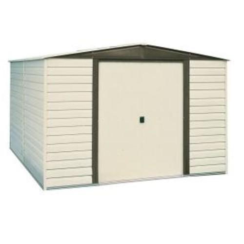 Arrow 10 ft. x 12 ft. Vinyl-Coated Steel Storage Building