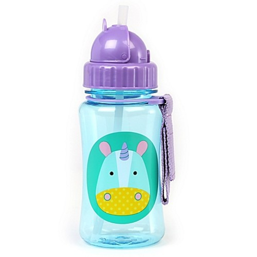 SKIP*HOP Zoo Unicorn Straw Bottle