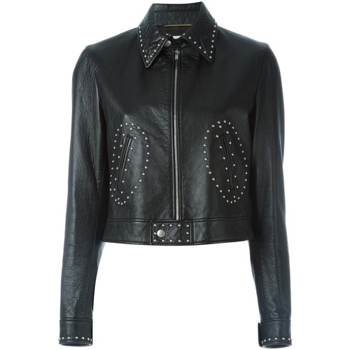 SAINT LAURENT 'Angie' Leather Jacket