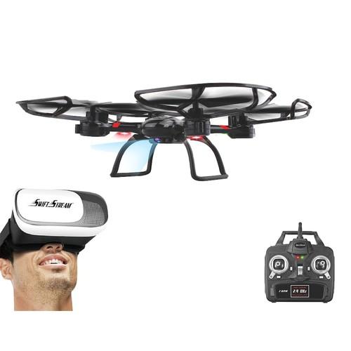 Swift Stream Z-32VR WiFi Camera Drone & Virtual Reality Goggles Set