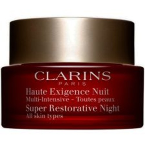 Clarins Super Restorative Night Cream for All Skin Types | CosmeticAmerica.com